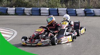 Karting exterior en Logroño