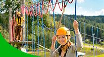 parque de aventuras, actividades de pruebas en Logroño