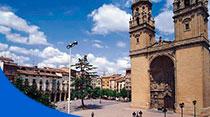 alojamientos: pisos en plaza del mercado de Logroño