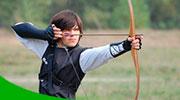 Tiro con arco, actividades para grupos en la naturaleza de Logroño