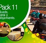 pack 11: ruta en quads, cena y alojamiento