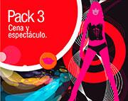 Pack 3: cena y espectaculo erótico