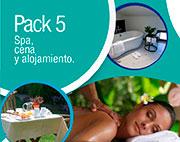 Pack 5: spa, cena y alojamiento en logroño