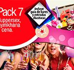 Pack 7: tuppersex, gymkana y cena